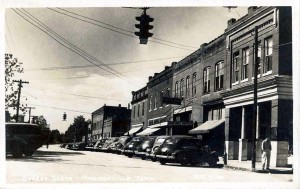 Madisonville TN College St 1940s